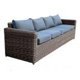 Καναπές πλεκτός 4 θέσεων