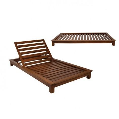Ξαπλώστρα ξύλινη 2θέσια