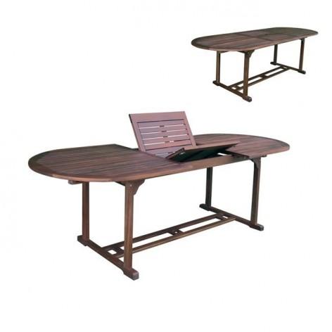 Ξύλινο Τραπέζι Κήπου Επεκτεινόμενο