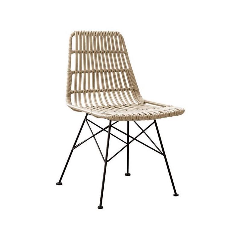 Καρέκλα κήπου πλεκτή