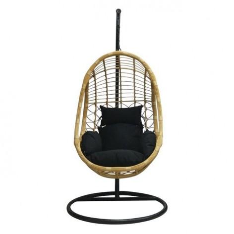 Κρεμαστή πολυθρόνα με μαξ. Wicker